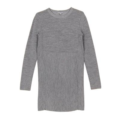 8da94e34b6 ... knit mini dress gray